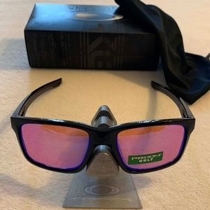 OAKLEY MAINLINK PRIZM GOLF Sunglasses-Pol Blk/Priz